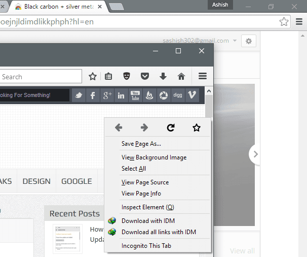 Open Current Firefox Tab in Private Mode in One Click