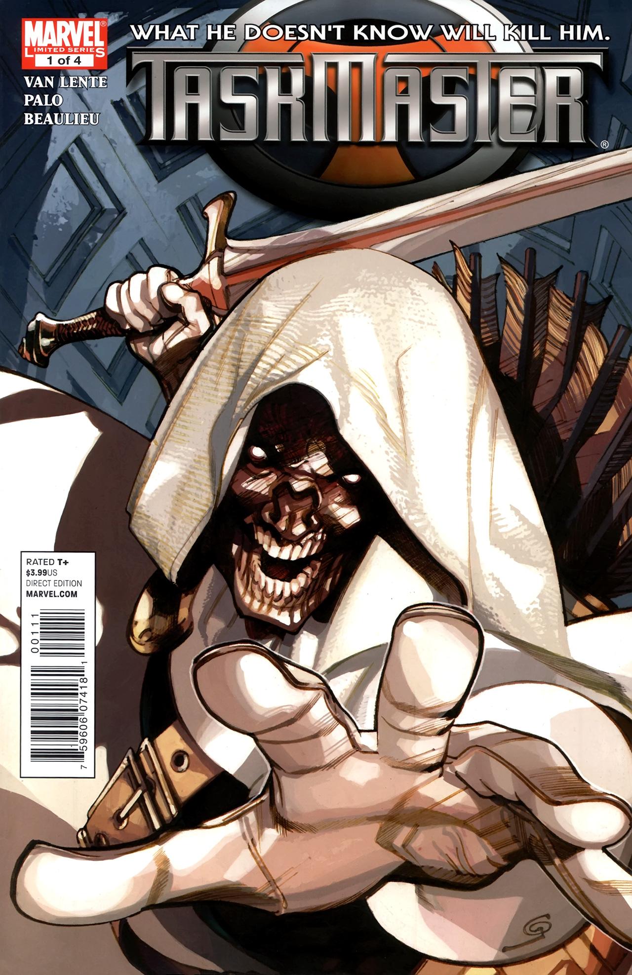 Read online Taskmaster (2010) comic -  Issue #1 - 1