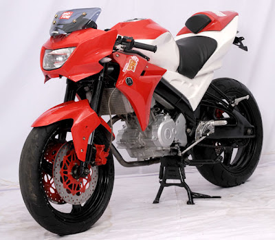 Modifikasi Yamaha Vixion Modif GAYA Motor gp