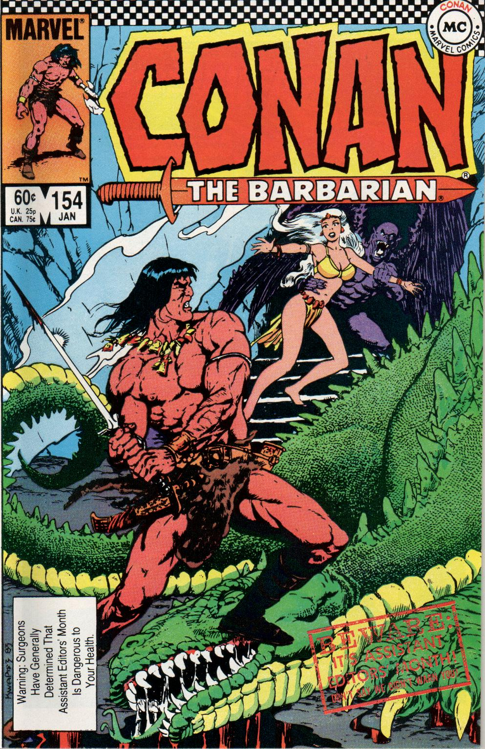 Conan the Barbarian (1970) Issue #154 #166 - English 1