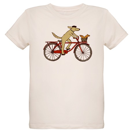 Dog and Squirrel t shirt