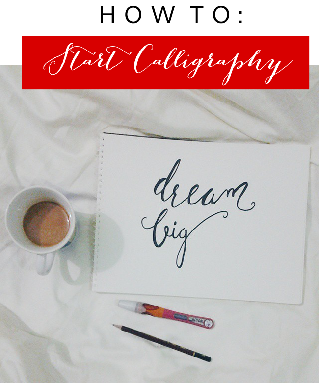 How To Start Calligraphy Noor 39 S Place Design
