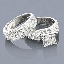 Wedding Rings For Both This Ring Features Both White And Chocolate