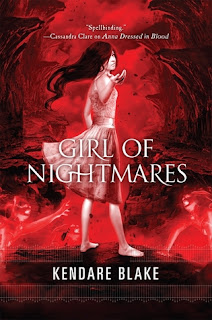 Cover Reveal: Girl of Nightmares by Kendare Blake