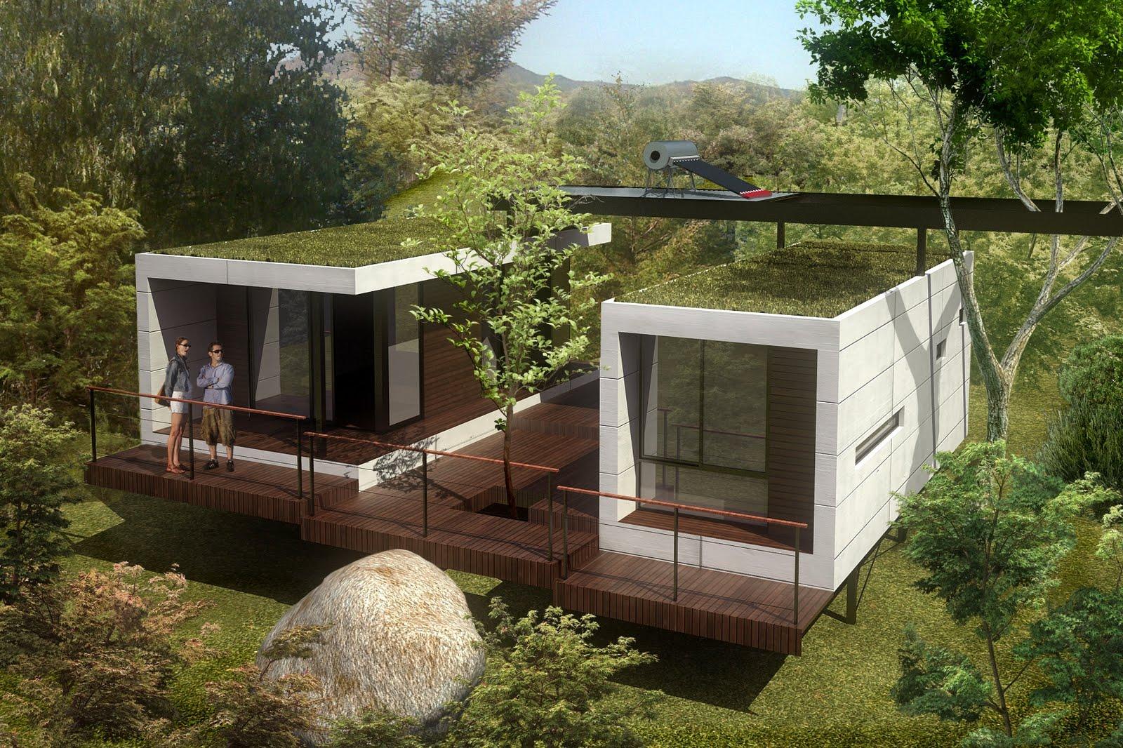 Arquitectura critica caba as modulares armando gross - Casas de madera economicas espana ...