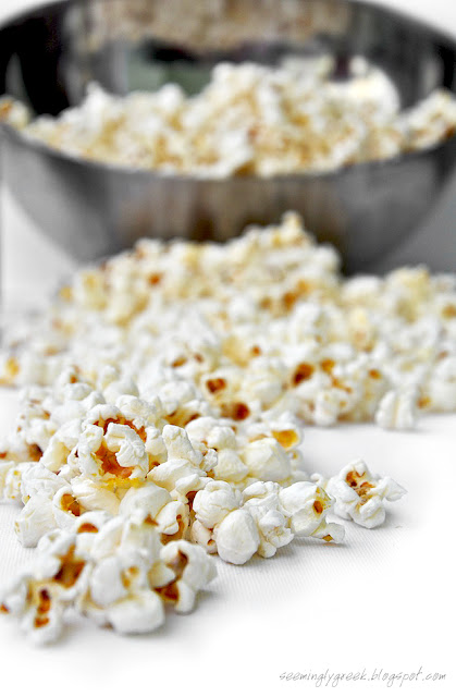 Homemade Popcorn Homemade Stovetop Popcorn . . .