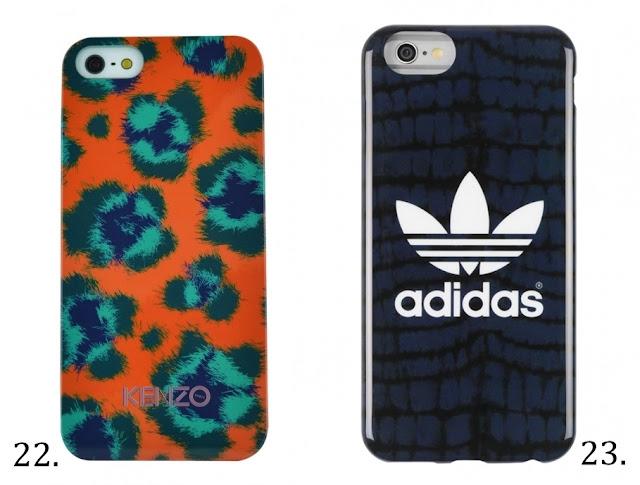 pokrowce etui case na iphone we wzory z kenzo i adidas