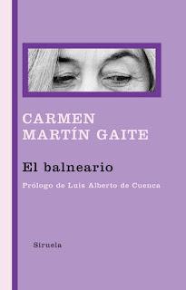 """El balneario"" - Carmen Martín Gaite."