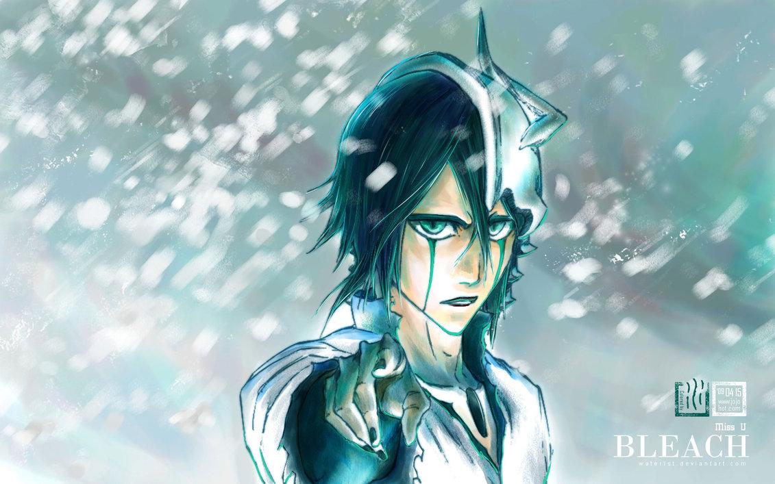 Ulquiorra Cifer Espada Number 4 Bleach Anime HD Wallpaper Desktop Background
