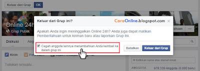 Cara mengatasi undangan join grup facebook tidak jelas5