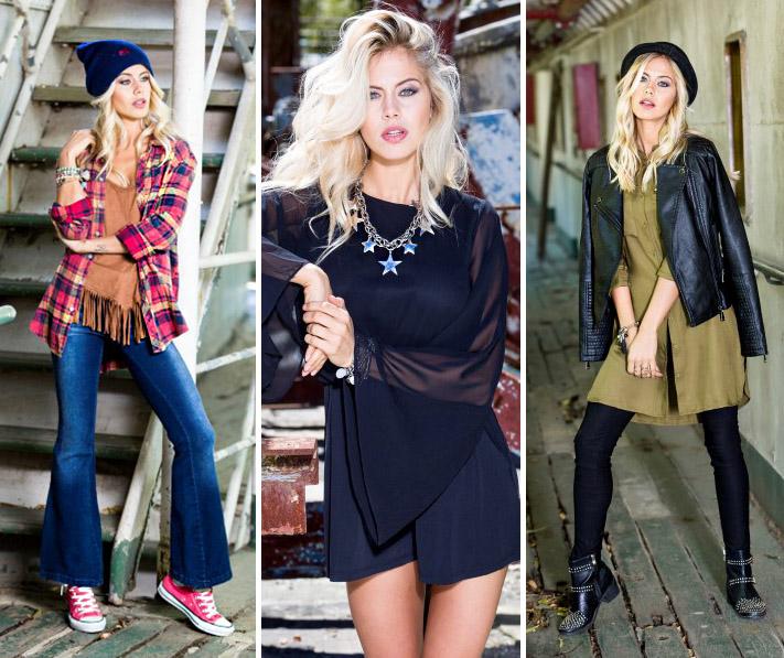 Moda otoño invierno 2016 urbana. Reina Ana otoño invierno 2016 ropa de mujer.