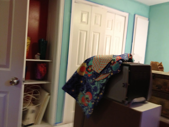 After pic - Craft Room paint