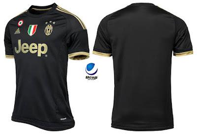 Juventus 3rd 2015-2016 tampak Depan Belakang