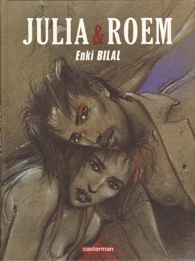 Julia & Roem de Enki Bilal chez Casterman