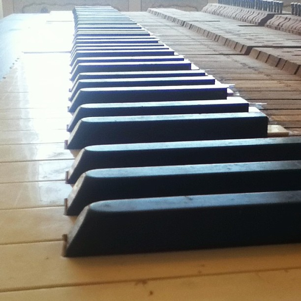 antique piano keys vintage heirloom