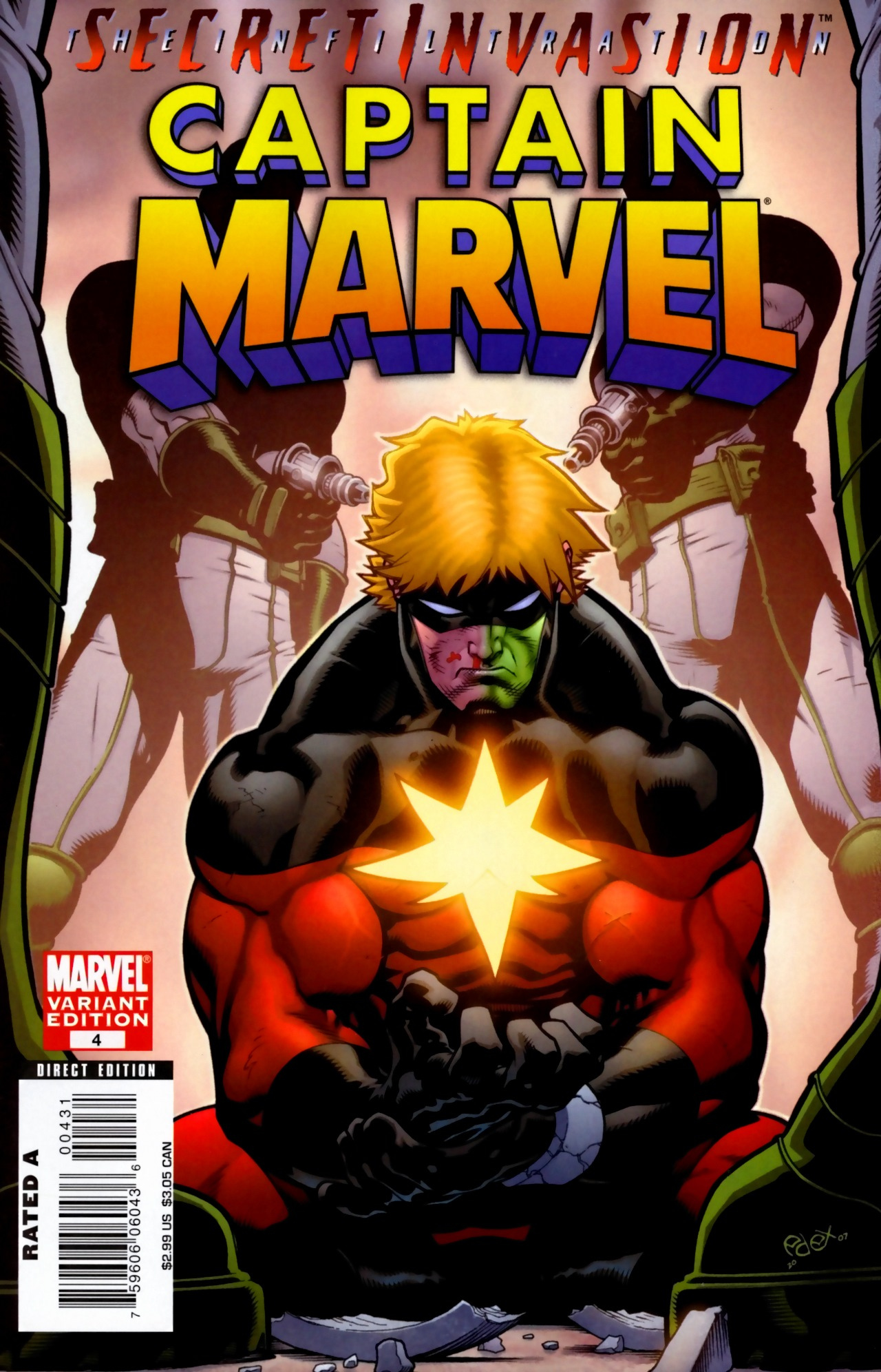 Read online Secret Invasion: The Infiltration comic -  Issue #5 - 1