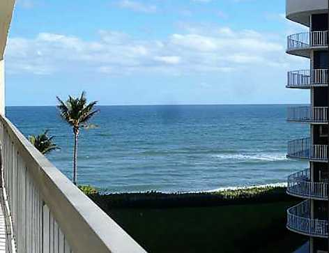 new listing: Oceanfront condo with ICW and ocean views in PALM BEACH