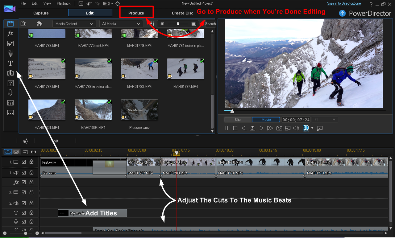 CyberLink PowerDirector Review - How To Edit Videos
