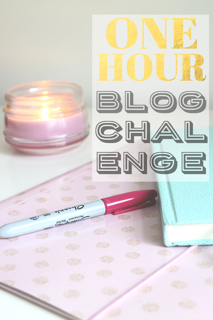 One Hour a Day Blog Challenge