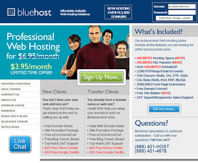 75% Discount on Bluehost Black Friday