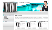 Template Hosting - Teal