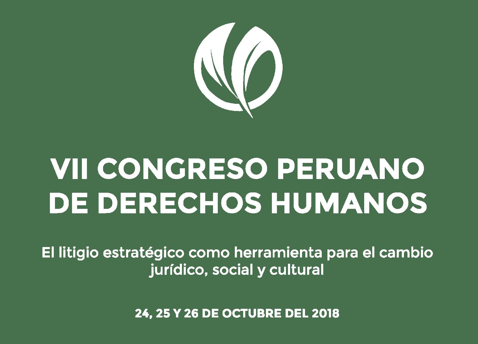 VII Congreso Peruano de Derechos Humanos