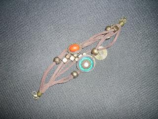 Armband Rot Türkis