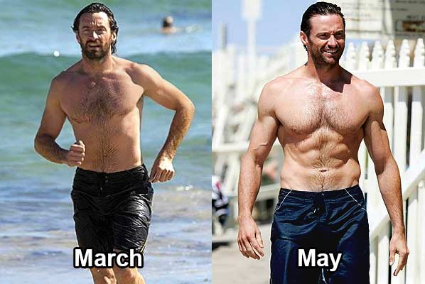 TOP 5 Incredible Hollywood Celebrities Body Transformation ...