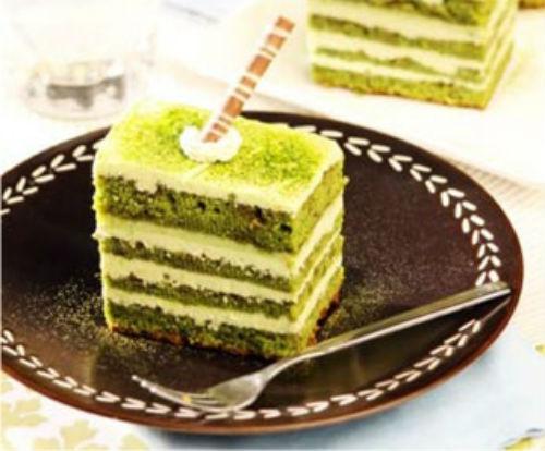 Green Tea Layer Cake Resep
