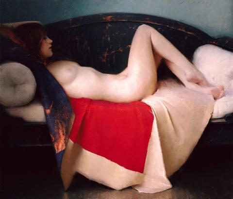 obra erótica del artista norteamericano Jeremy Lipking