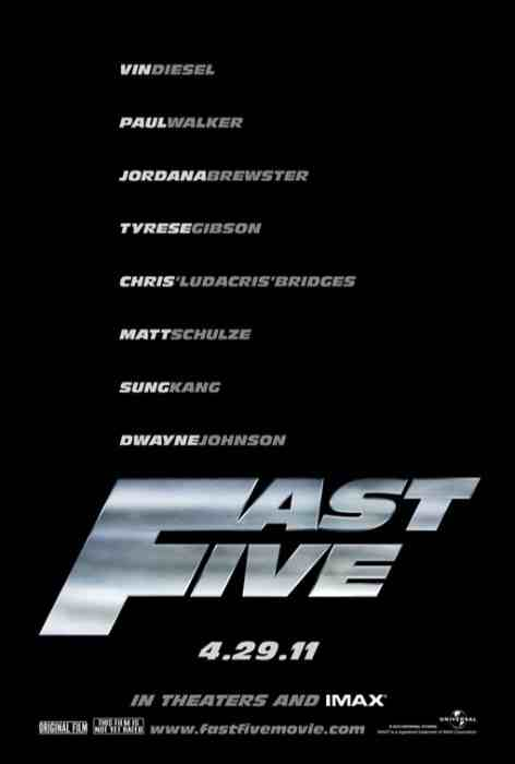 new fast five poster. Fast Five? Fast amp; Furious 5?