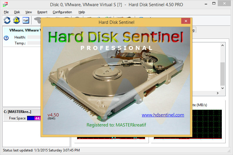 Hard Disk Sentinel Pro 4.50