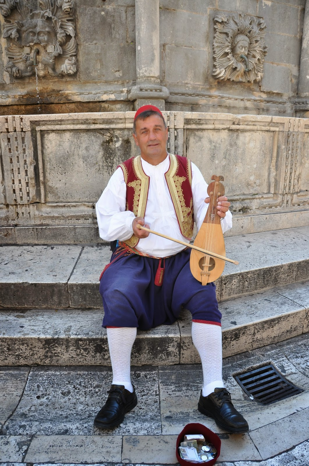 Musician, Old Town, Dubrovnik