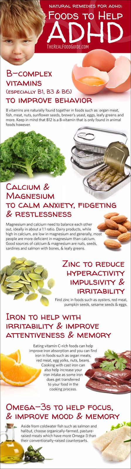 Natural remedies for ADHD: Vitamins for ADHD