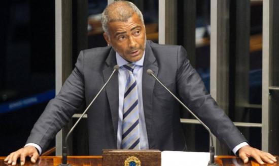 Romário é um dos principais críticos da CBF no Congresso Nacional