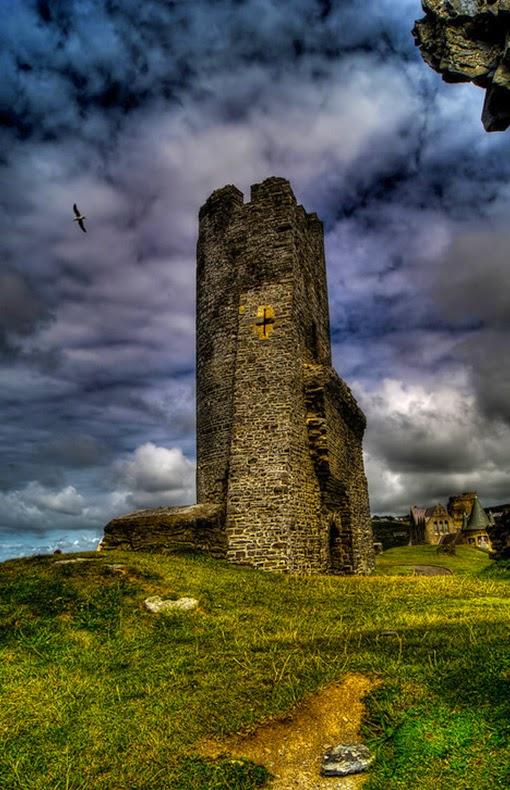 Medieval, Aberystwyth Castle, Wales
