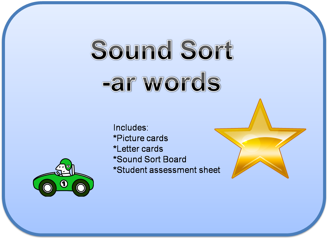 center activity for the students to work on r controlled sounds making ...