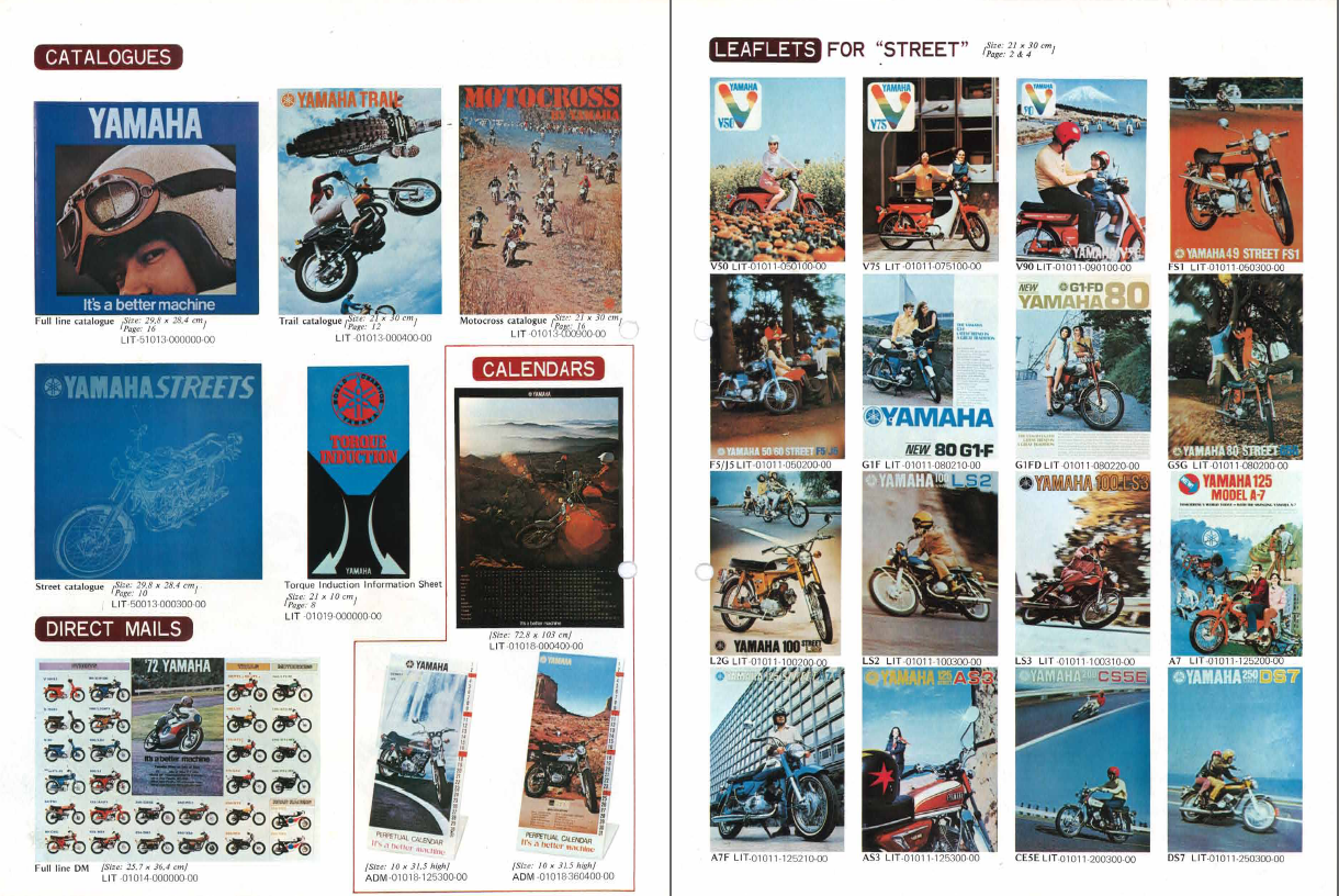 Restoration Yamaha Ls3 1972  Specifications  Media And