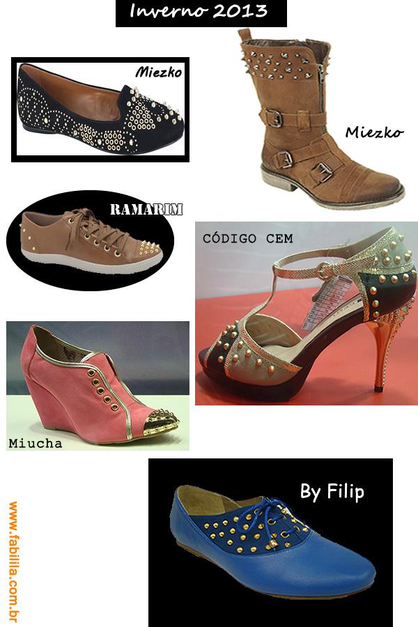 Sapatos inverno 2013