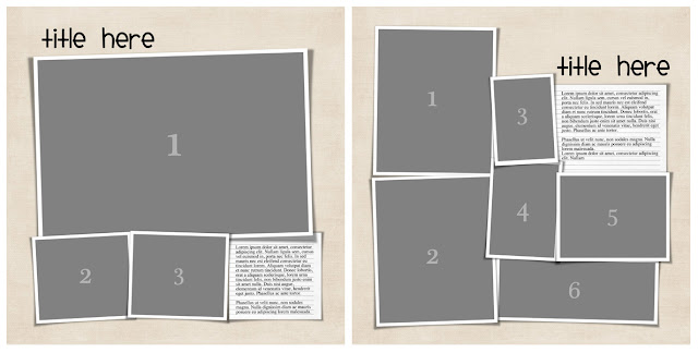 Simple Photobook Template 3