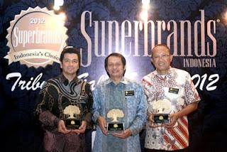 SG Raih Super Brand 2012