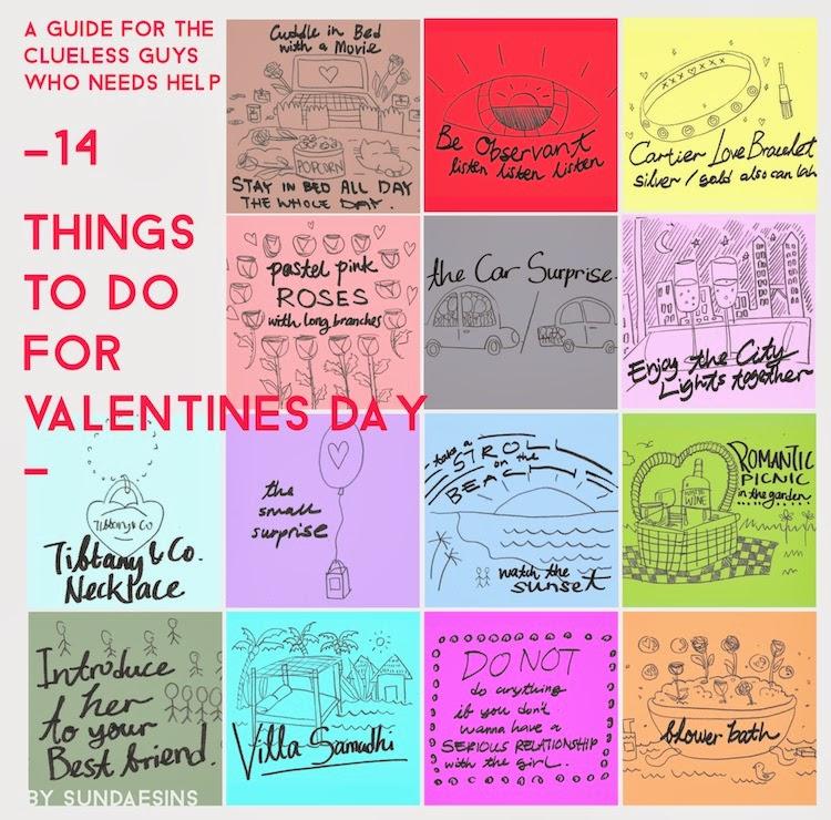 Sundaesins things to do for valentine 39 s day for Cool things to do on valentine s day