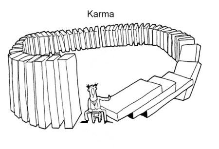 El karma explicado en una sola imagen