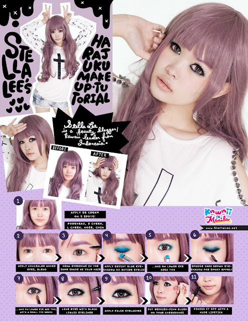 Harajuku Make Up Tutorial