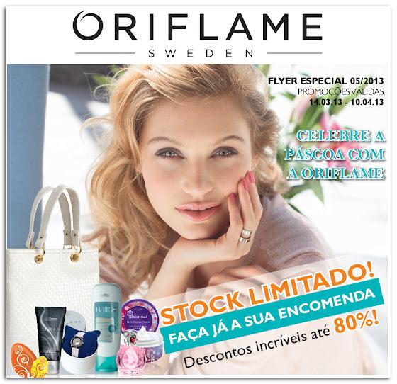 Flyer do Catálogo 05 de 2013 da Oriflame