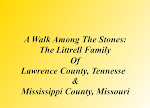 Littrell Family History Book For Sale: