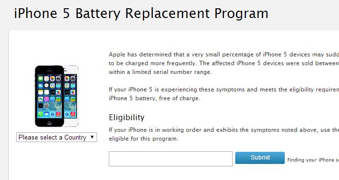 Apple sorunlu pilleri değiştiriyor