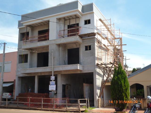 Novas construções não páram
