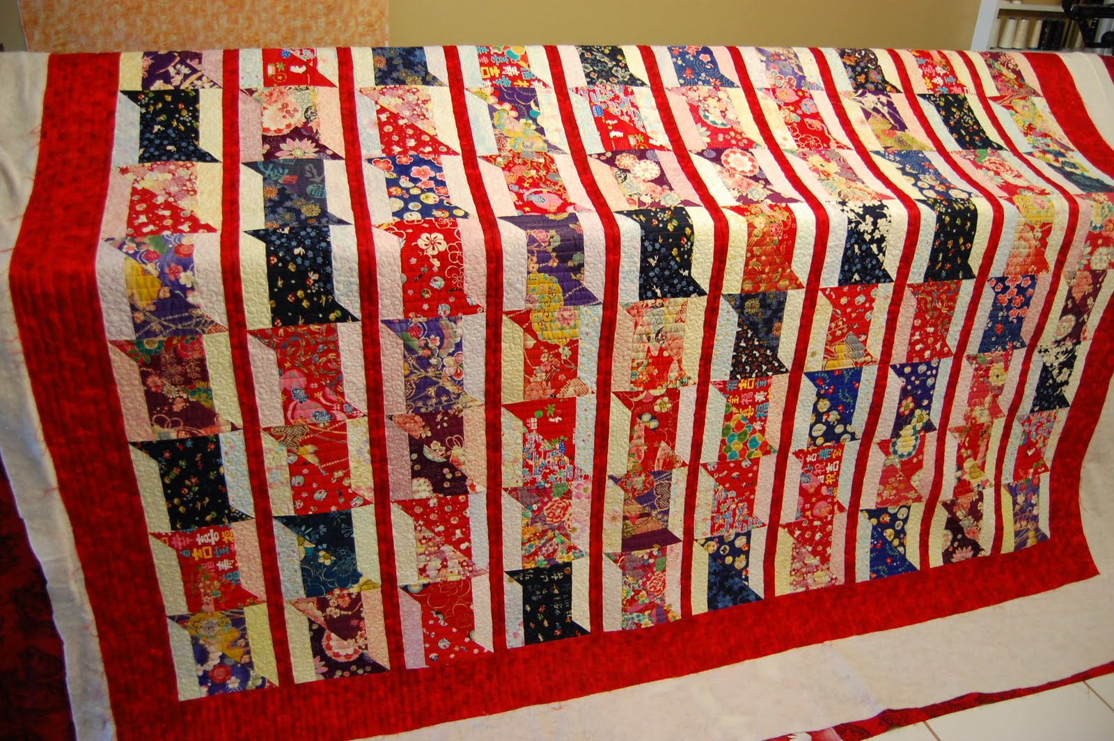 Creative Longarm Quilting by Karen Marchetti: even more catch up... : bamboo quilt pattern - Adamdwight.com