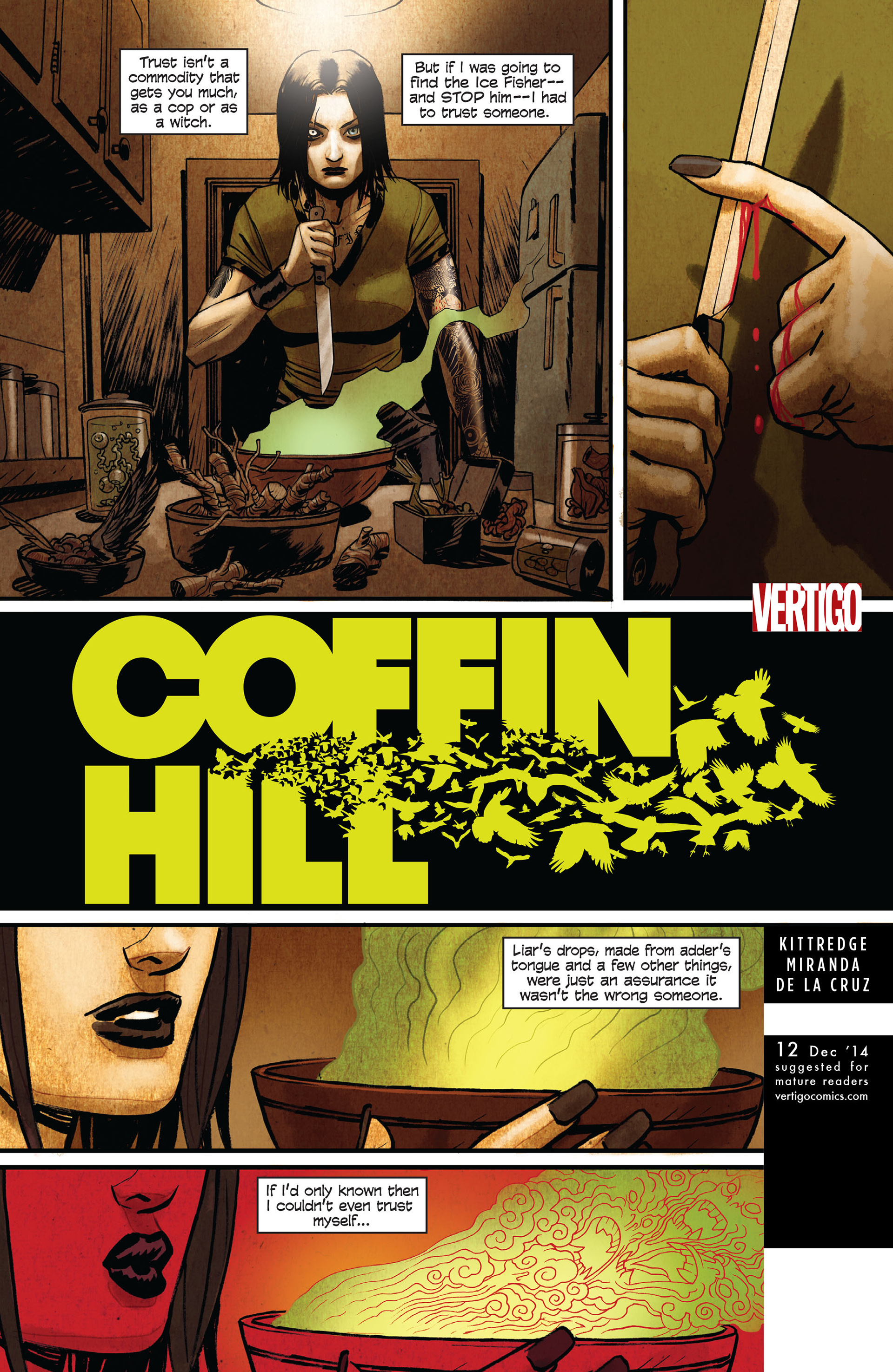 Coffin Hill 12 Page 1